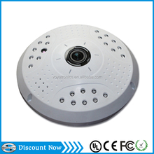 factory supply dome camera 1.0MP IR cut support 128G SD card and ONVIF 360 degree wireless camera