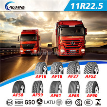 China top quality truck tyres 11R22.5 suitable for minning