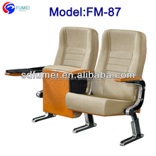 FM-87 Modern theater furniture church seating with armrest