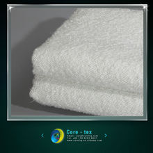 Thermal insulation texturized glass fiber fabric
