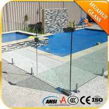 Export to Australia frameless glass pool fence AS/NZS 2208