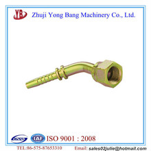 Hot Sale SAE MALE 90 degrees CONE SEAT 27841 metal pipe fitting