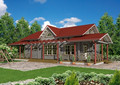 2015 nuevo diseño de madera villa proyecto