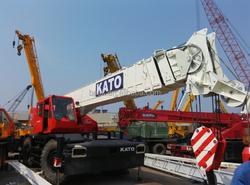 Original used construction machineries, Kato SS500 rough terrain crane 50T