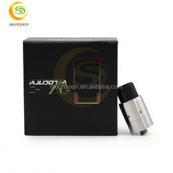 New products 2015 best selling Velocity RDA e cig mosler black Velocity RDA atomizer new version in stock 48 volt ebike battery