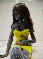 132cm 15KG sex doll black girl sex doll for men black black sex doll silicon