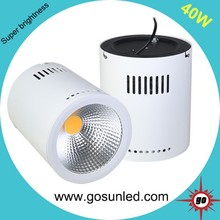 High brightness 120lm/w surface mounted led downlight 40w 4800lm