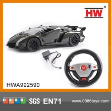 New Design 1:16 Steering Wheel High Speed Rc Car(2 Shapes Mixed ,Battery Not Included)