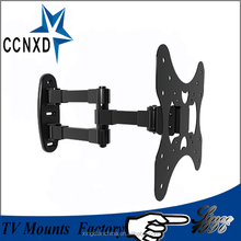 super slim screen TV wall bracket tilt and rotation with full motion fuction