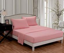 4PC bed sheet set, Queen sheet,super soft/ Wrinkle Free/ Fade-resistant/, deep pockets, Embossed