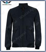 2013 man fashion black cotton fabric cheap plain varsity jacket
