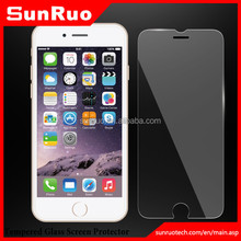 2.5D 9H Oleophobic Coating Mobile Phone LCD Premium tempered glass screen protector for Iphone 6, LCD screen protector