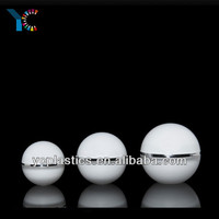 Wholsales Plastic Cosmetic Cream Ball Jar Round Acrylic Container