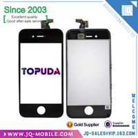 All Pass QC Repair Parts Lcd With Digitizer For iPhone 4