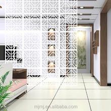 Folding screen room divider for home decor