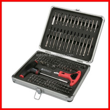 147pc Professional Screwdriver Set Tool with Aluminium Case