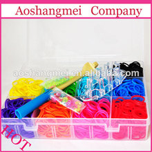 China Good Quality Cheap Fun Crazy Loom rubber Bands Wholesale