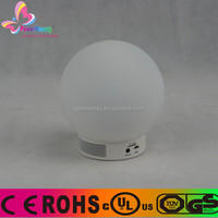 Creative Bluetooth Great Sound Speaker with led light bluetooth speaker 3w LED Ball APP Control