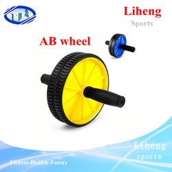 AB roller wheel exercise