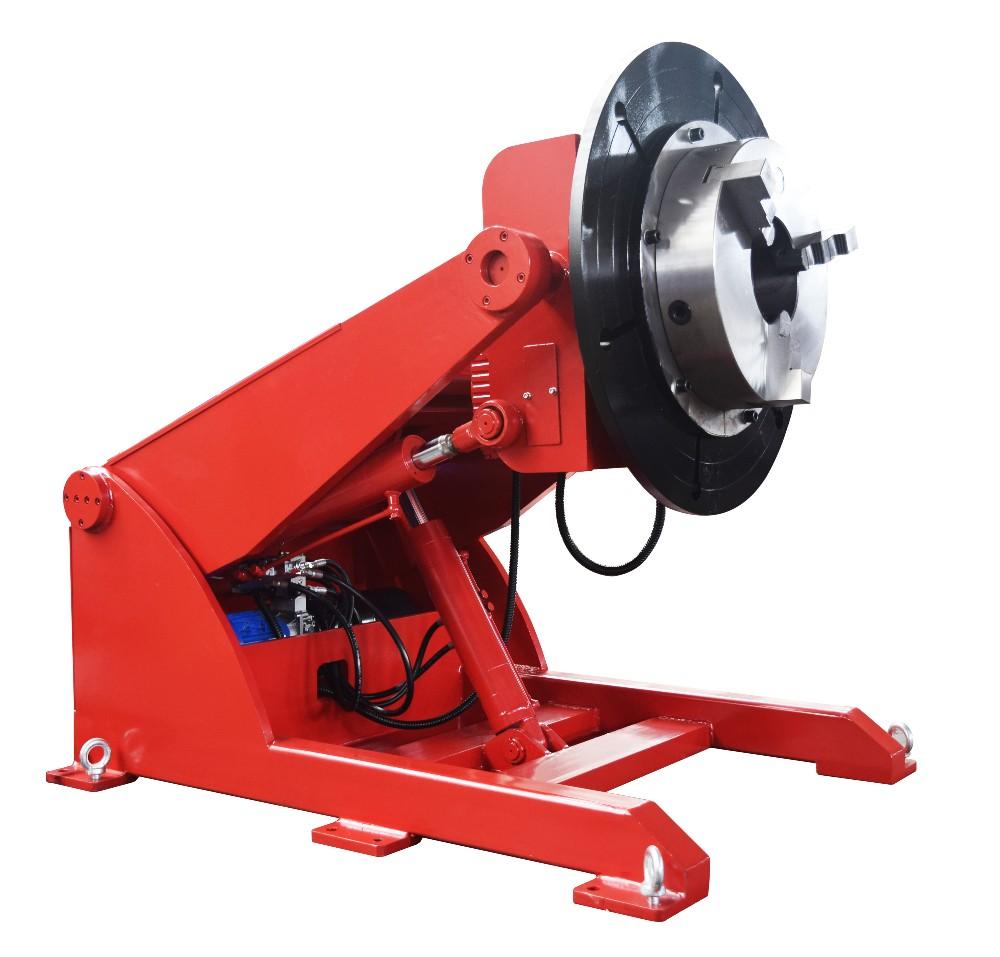 5 tonnes hydraulique positionneur de soudage