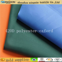 waterproof fabric shipping bags fabric 420Dpolyester material