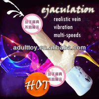 Ejaculation dildo vibrating dildo multi-speeds rotating penis dildo vibrator