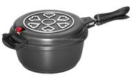 24CM DIE CAST ALUMINIUM LOW PRESSURE POT , PRESSURE PAN, NONSTICK PAN