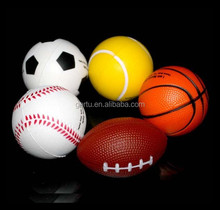 Sport foam sterss ball,baseball,soccer ball,tennis ball,football,basketball