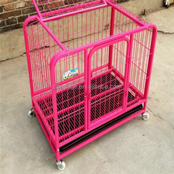 pink color kennel beds dog crate cage cheap price