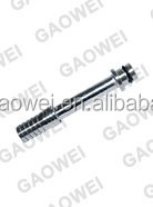 "stainless steel input ftg, straight, 3/8 barb long with "" O"" ring, input fitting"