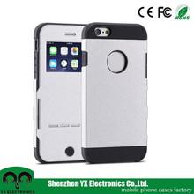 SPG auto sleep leather flip phone cases for iphone 6