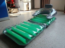 PVC inflatable air mattress, special design, seat bed