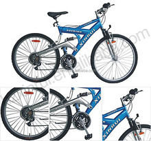 "21 speed 26"" Suspension Mountain Bike XR-M2653 bicycle Mountain bicycle"