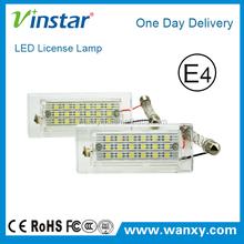 Vinstar high power energy saving 18 led license plate light for x3 x5