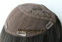 Alibaba Best Sellers Unbelievalbe Price Mongolian Human Hair Jewish Wig Topper Kippah Fall