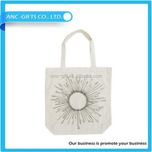 printing logo drawstring cotton pouch bag for cosmetics