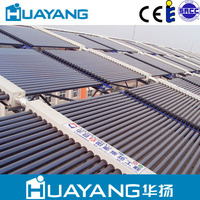 24 tubes heat pipe solar hot water heater system