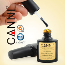 #30917cW Nail art paint CANNI kit uv gel top base coat
