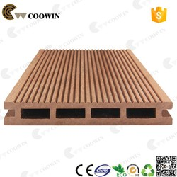 2015 Qingdao COOWIN various color and high quality wpc floor like natural wooden