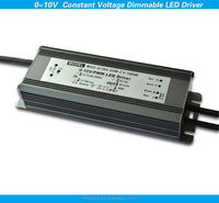 220Vac 12Vdc 24Vdc 0-10V dimmable constant voltage 100w led power supply dimming led driver for led lamp, 5 years warranty