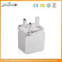 Newest Design 220V AC Charger UK Style Plug USB Power Adapter for Iphone/Samsung/MP3 Player
