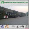 China manufactuer tri-axle cargo semi trailer side wall cargo semi trailer drop side insulated cargo trailer with FUWA axle