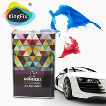 2K auto de calidad de pintura / recubrimientos base puros colores sólidos de revestimiento para automóviles Ford USA