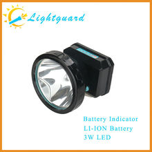 2015 new style Direct Supplier New Powerful Long Range Waterproof Rechargeable Cordless miners head lights
