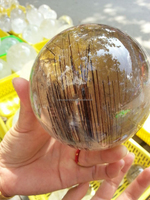 Low price Hot sale rutilated quartz crystal ball/sphere natural stone sphere