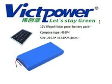 Promotion!! 4S6P Lifepo4 Solar panel batteries 12V 30Ah