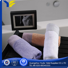 plain dyed made in China microfiber fabric cotton towel & bath sheets