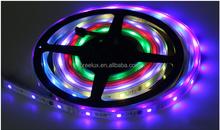 New Magic Dream Color RGB LED Strip 5M 6803 IC 133 change+RF Controller