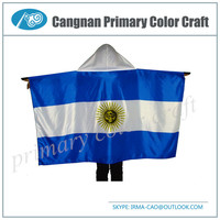New type national flag funny flags Polyester body flag for advertising