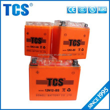 Good quality lead acid high power motorcycle 12v 12ah battery